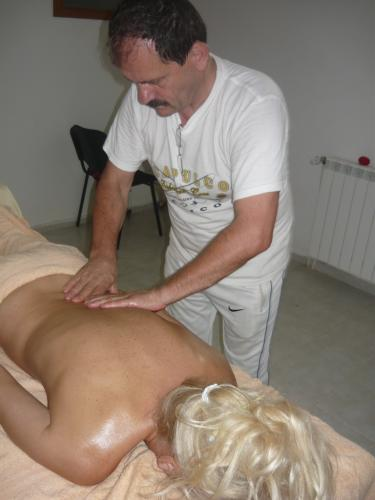 Masaj de relaxare - Centru spa Baile Herculane - Hotel International - Baza de tratament